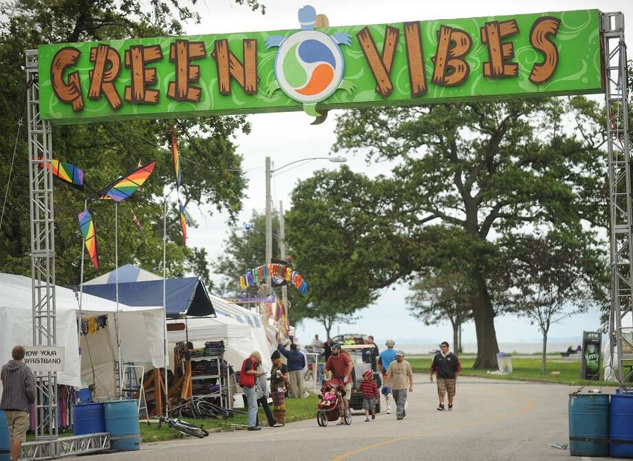 The 18th annual Gathering of the Vibes Musical Festival at Seaside Park in Bridgeport, Conn. on Thursday, July 25, 2013. It will run through Sunday, July 28, 2013. Photo: Brian A. Pounds