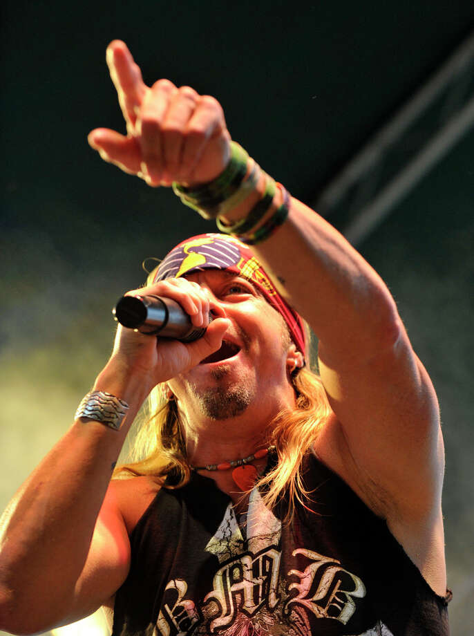 Bret Michaels performs during Alive@Five at Columbus Park in Stamford on Thursday, July 25, 2013. Hearst Connecticut Newspapers are a sponsor of the event. Photo: Jason Rearick / Stamford Advocate