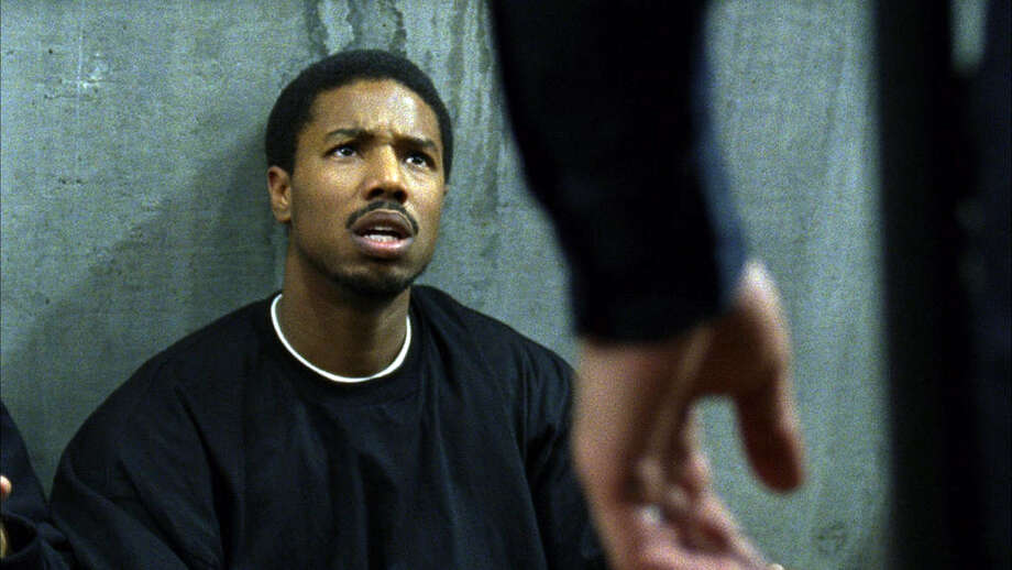 "This film publicity image released by The Weinstein Company shows Michael B. Jordan in a scene from ""Fruitvale Station."" (AP Photo/The Weinstein Company, Ron Koeberer) ORG XMIT: NYET110 Photo: Ron Koeberer / The Weinstein Company"