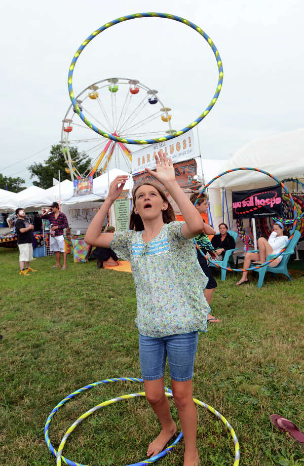 The 18th Annual Gathering of the Vibes music festival at Seaside Park in Bridgeport, Conn. on Thursday July 25, 2013. Photo: Christian Abraham / Connecticut Post freelance