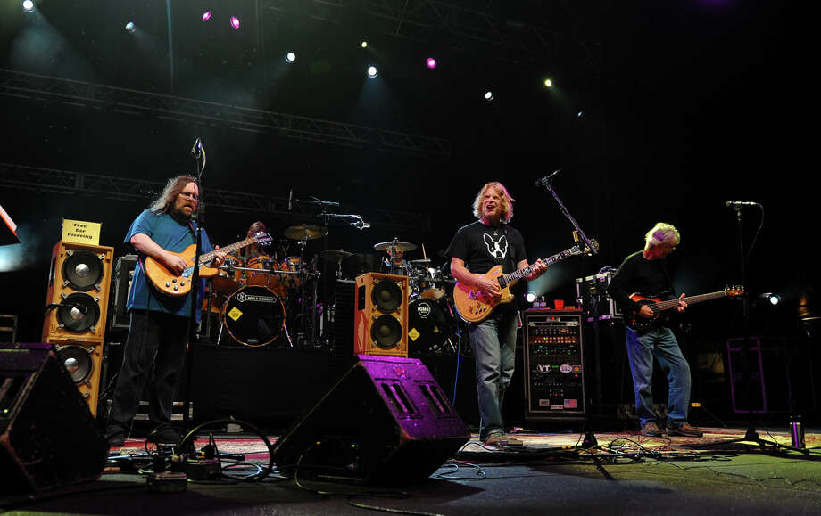 Dark Star Orchestra performs during the 18th Annual Gathering of the Vibes music festival at Seaside Park in Bridgeport, Conn. on Thursday July 25, 2013. Photo: Christian Abraham / Connecticut Post freelance