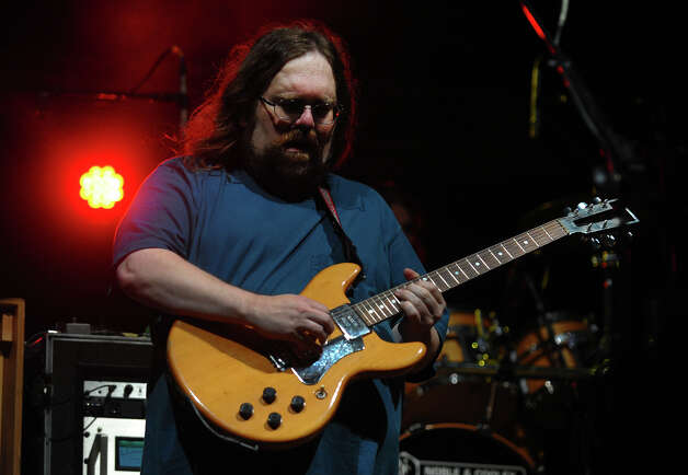 Jeff Mattson of Dark Star Orchestra performs during the 18th Annual Gathering of the Vibes music festival at Seaside Park in Bridgeport, Conn. on Thursday July 25, 2013. Photo: Christian Abraham / Connecticut Post freelance