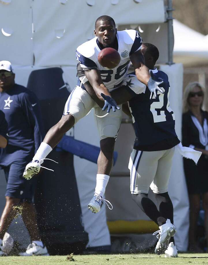 """Cowboys receiver Dez Bryant (88) credits his improvement as a route runner for his standout 2012 season. """"I always gave effort, but now I'm more dangerous also using technique,"""" he said."""