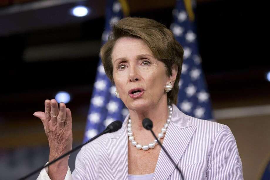 "House Minority Leader Nancy Pelosi, D-Calif., said Thursday that San Diego Mayor Bob Filner and New York mayoral candidate Anthony Weiner's behavior was ""disrespectful to women."""