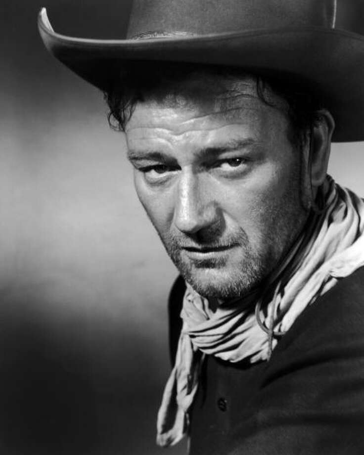 John Wayne  (suggested by savageduck) committed the serious faux pas of avoiding one war and then talking up another war he was too old to fight in, but that's not what's on screen.  He's not overrated -- he's underrated. Photo: Archive Photos, Getty Images / 2007 Getty Images