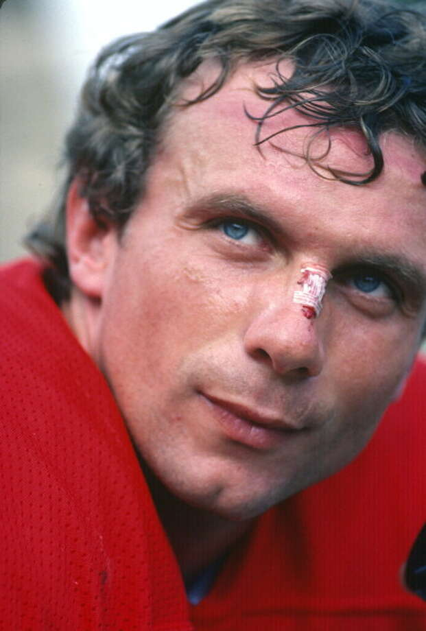 Joe Montana (suggested by eleikoman) -- Uhh, what am I missing here?  I mean, I'm not much of a football fan, but this guy won four superbowls.  So . . . he needed to win five, maybe?  No, some people are great at what they do. He's one of them. Photo: Focus On Sport, Getty Images / 1983 Focus on Sport