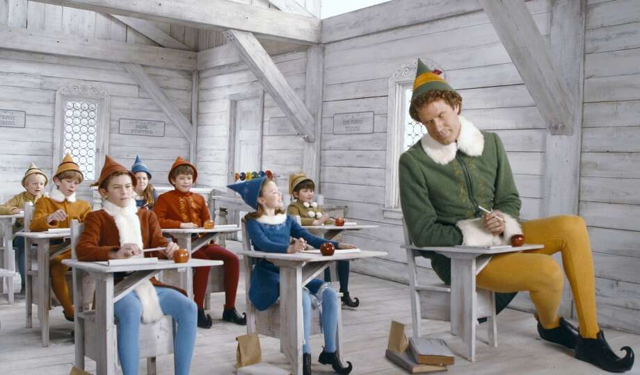 """""""Elf"""" is the modern classic about an abandoned baby taken to the North Pole in Santa's pack who grew into a full-sized human among elves. He returns to New York City to find his origin story. Photo: Courtesy New Line Cinema"""