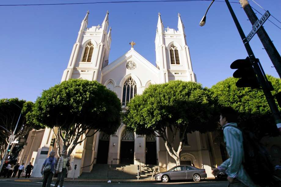 St. Francis of Assisi Church in North Beach was reborn in 1997 as the only sanctioned shrine outside the saint's Italian hometown. Photo: Darryl Bush, SFC