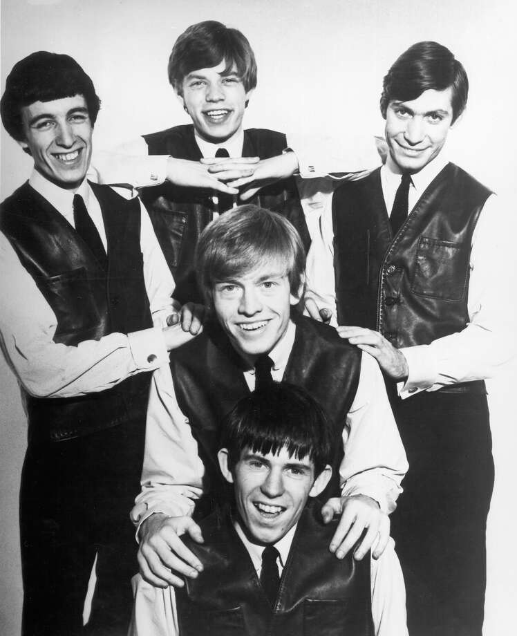 A baby-faced Mick Jagger and The Rolling Stones pose for a very early portrait circa 1962 in London. Photo: Michael Ochs Archives / Michael Ochs Archives