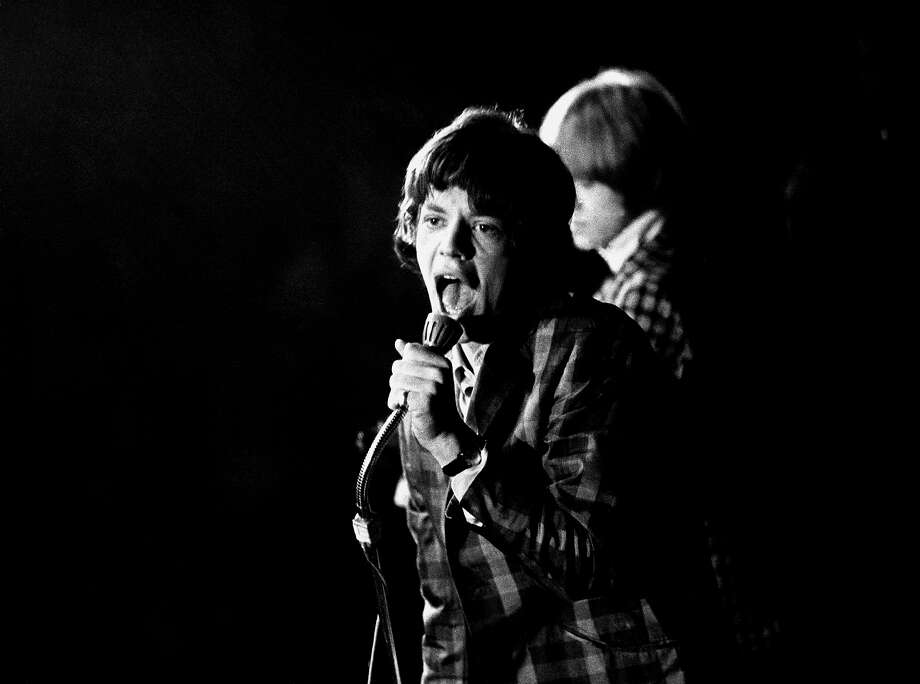 Mick Jagger in Copenhagen, 1965 Photo: Jan Persson, Redferns / Redferns