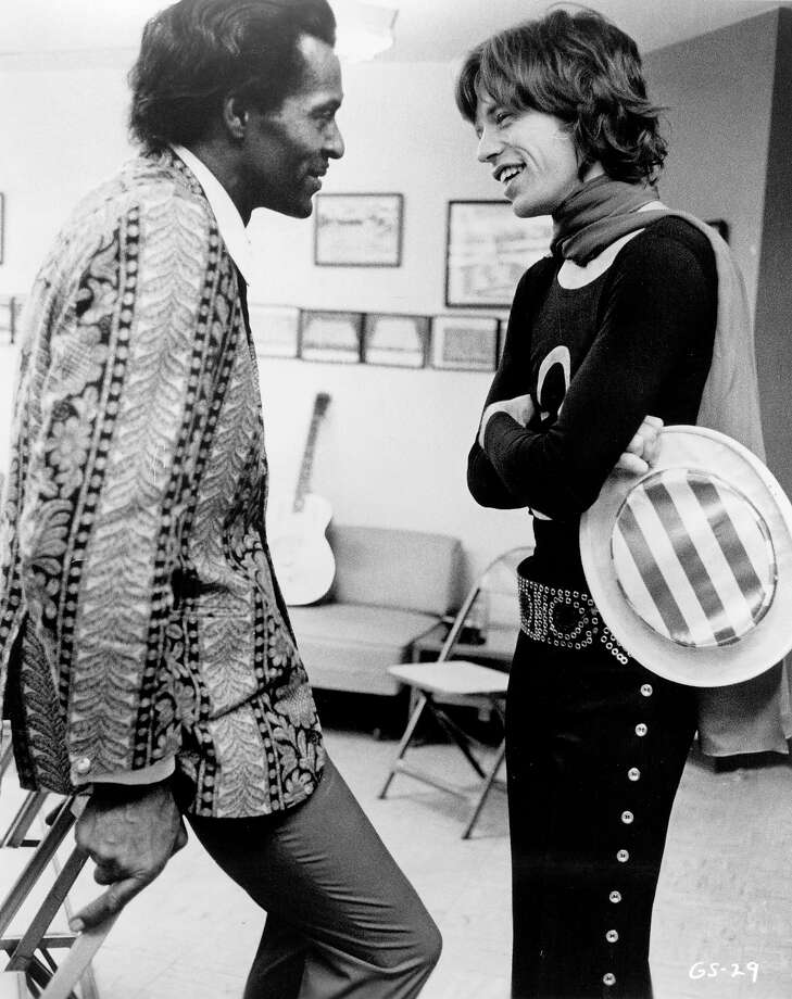 Chuck Berry and Mick Jagger. Photo: Michael Ochs Archives / Michael Ochs Archives