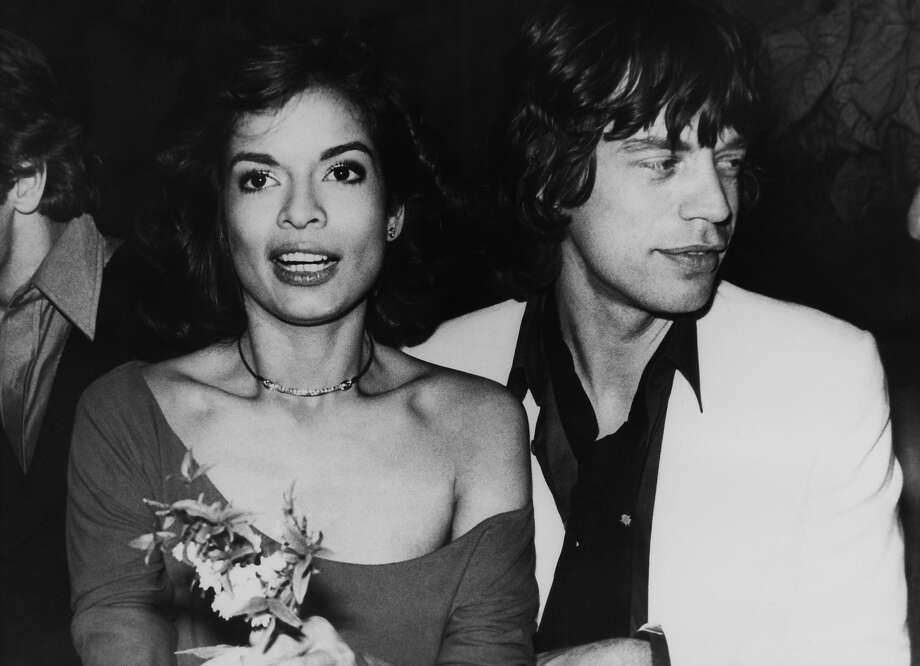 Mick Jagger and wife Bianca. Photo: Keystone-France, Gamma-Keystone Via Getty Images / 1900 Keystone-France