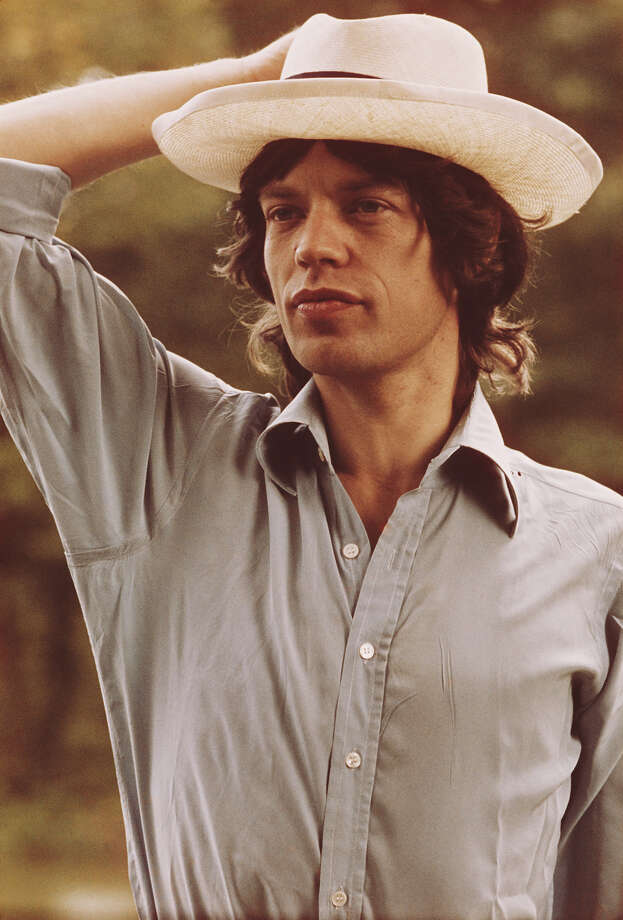 Singer Mick Jagger before the first night of the Rolling Stones' 1973 European World Tour, Stadthalle, Vienna, Austria, 1st September 1973. Photo: Michael Putland, Getty Images / 2011 Michael Putland