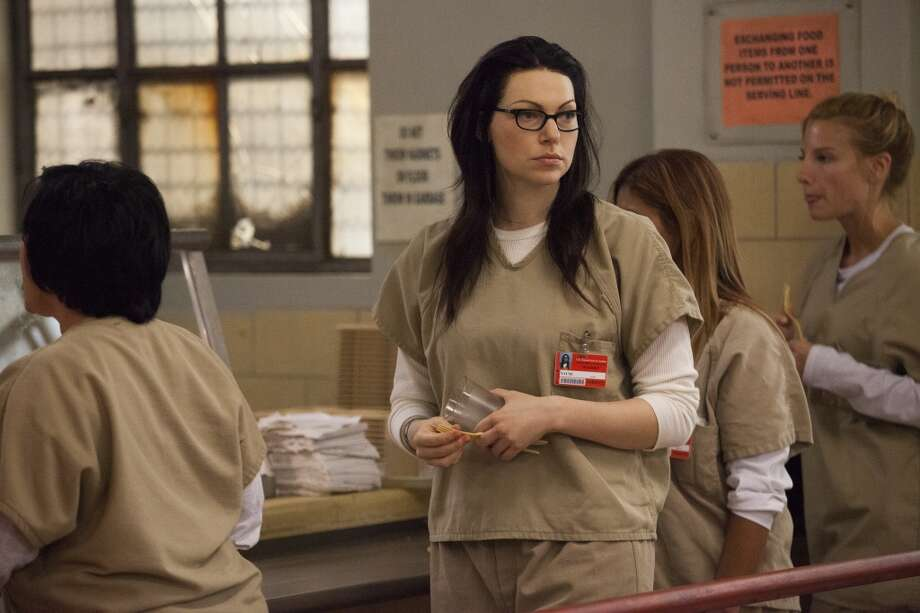 "Laura Prepon in ''""Orange is the New Black.'' 