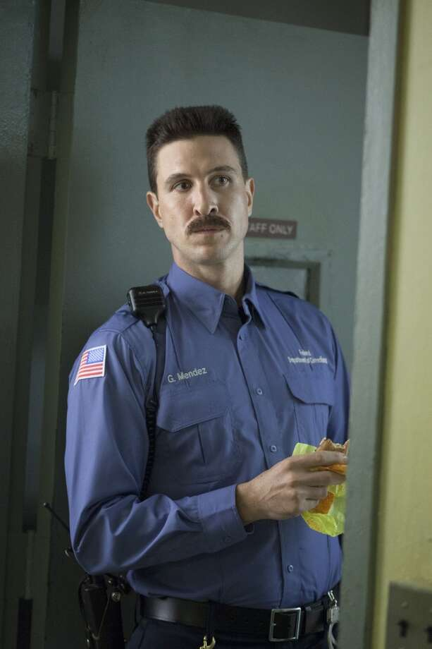 Pablo Schreiber plays George ''Pornstache'' Mendez. Does his face look familiar? Photo: Netflix, Paul Schiraldi Photography