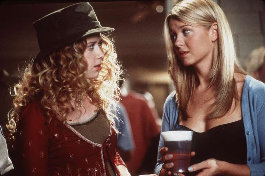 Natasha Lyonne's big role: In 1999's ''American Pie.'' She's  pictured, left, with actress Tara Reid. Photo: Getty Images