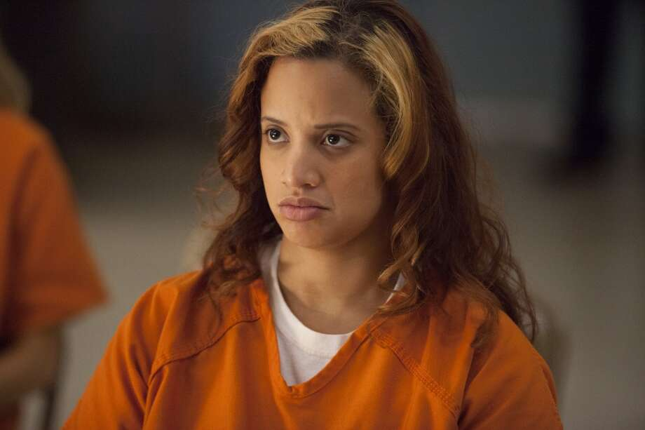 "Dascha Polanco in ''""Orange.'' Next up for this actress: The movie ''Gimme Shelter.'' Photo: Jessica Miglio, Netflix"