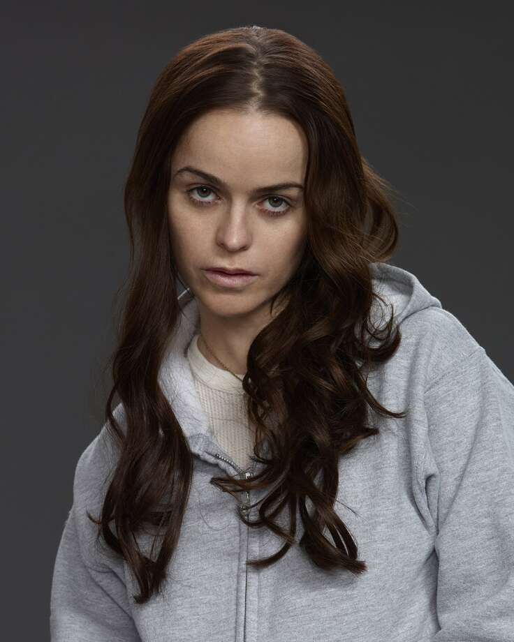 Taryn Manning, in ''Orange.'' Best known for her tough, vulnerable characters in ''Hustle & Flow'' and ''Sons of Anarchy.'' Photo: Jill Greenberg, Netflix