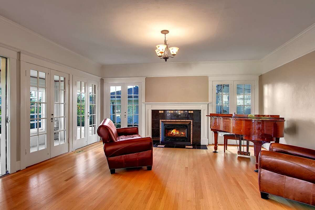 Living room of 1806 N.E. 65th St. It's listed for $550,000.