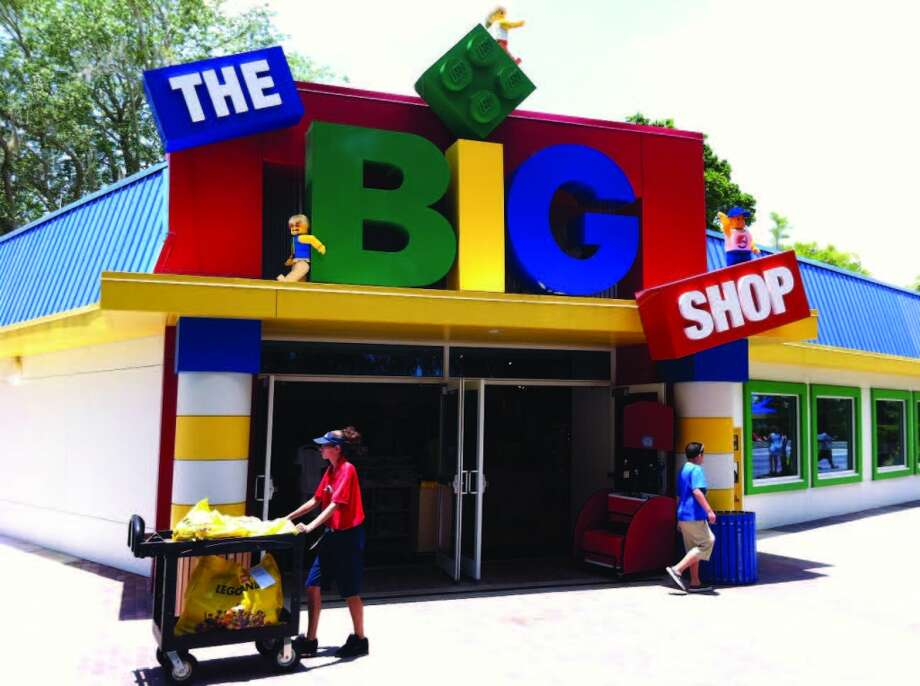 Plenty of Lego products are available in the LEGOLAND park's shops. Photo: Chantay Warren, San Antonio Express-News