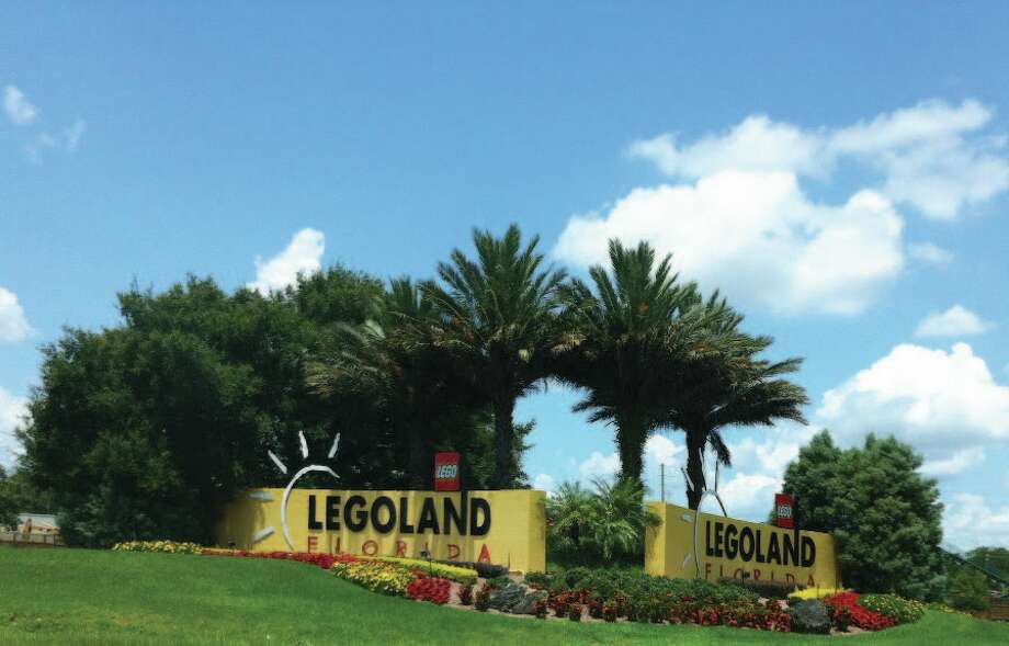 The entrance to LEGOLAND in Florida. Photo: Chantay Warren, San Antonio Express-News