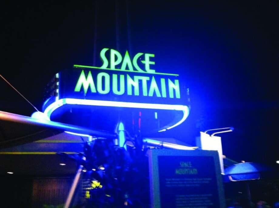 Space Mountain is a popular coaster ride at Magic Kingdom, Photo: Chantay Warren, San Antonio Express-News