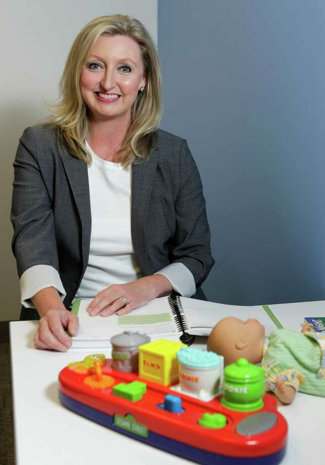 Dr. Robin Page Goin-Kochel, associate director for research at the Autism Center at Texas Children's Hospital and assistant professor in Department of Pediatrics at Baylor College of Medicine, psychology section, poses in an evaluation room at the Autism Center at Texas Children's Hospital,  8080 N. Stadium Drive, Thursday, June 13, 2013, in Houston. She is leading a Houston study on a new blood test for autism. ( Melissa Phillip / Houston Chronicle ) Photo: Melissa Phillip, Staff / © 2013  Houston Chronicle