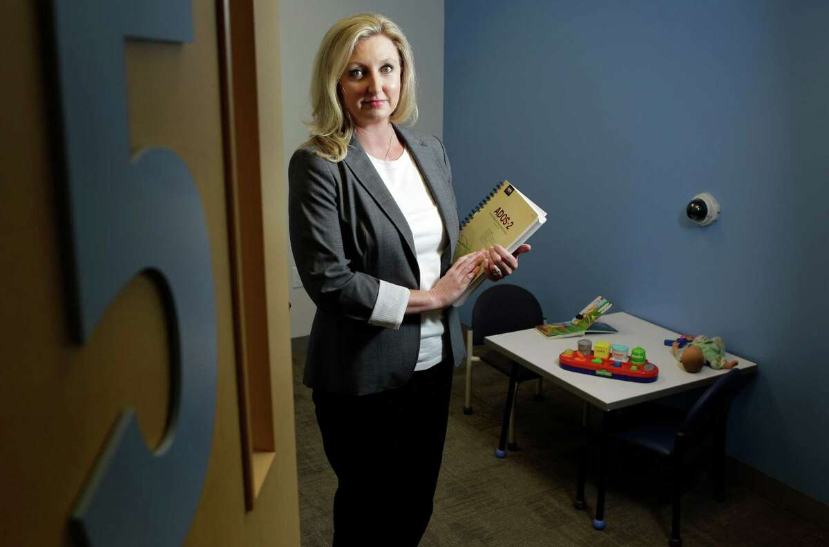 Dr. Robin Goin-Kochel, associate director for research at the Autism Center at Texas Children's Hospital, is leading a Houston study on a new blood test designed to detect autism.