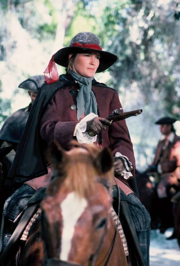 Kate Mulgrew has a long history of playing badasses. In the '80s, she was bounty hunter ''Hattie Carraway'' in the TV movie, ''Roots.'' Photo: ABC Photo Archives, ABC Photo Archives/Getty Images