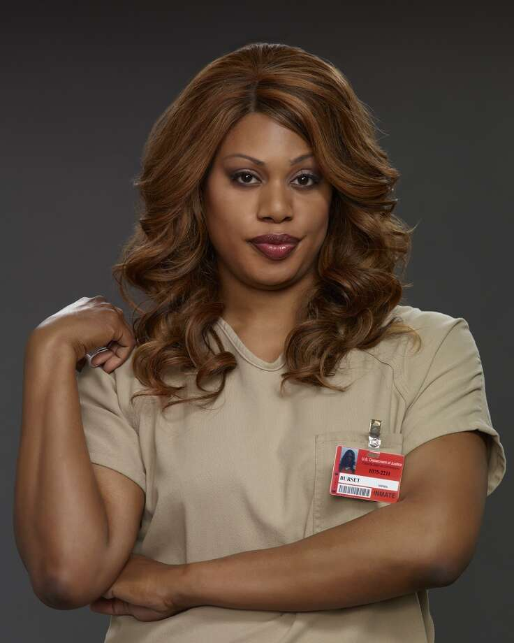 Laverne Cox in ''Orange.'' She's a well-known transgender advocate who was a contestant in VH1's reality show, ''I Wanna Work for Diddy.'' Photo: Jill Greenberg, Netflix
