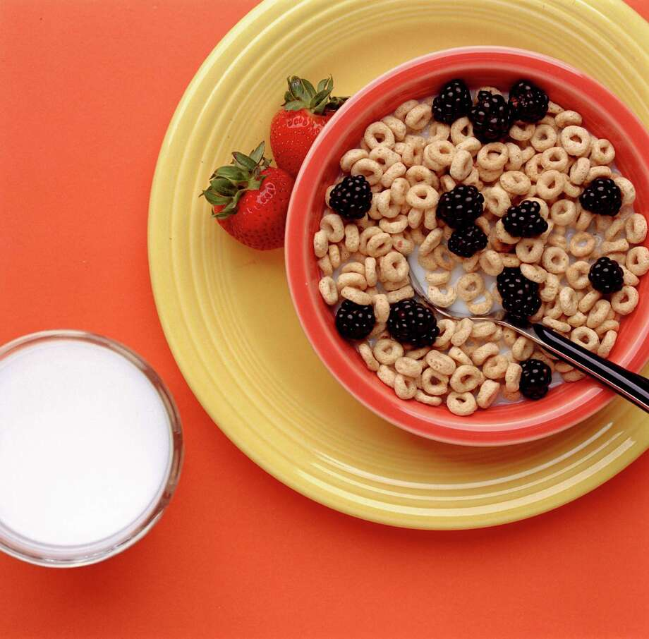 Fortified milk is a good source of vitamin D, and fortified cereals are a good source of vitamin B12. Photo: Buster Dean, Staff / Houston Chronicle