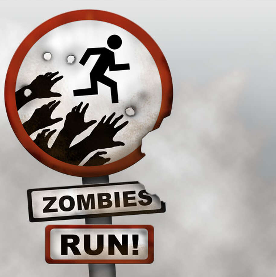 Fitness app Zombies, Run! turns jogging into a quest for survival. / handout