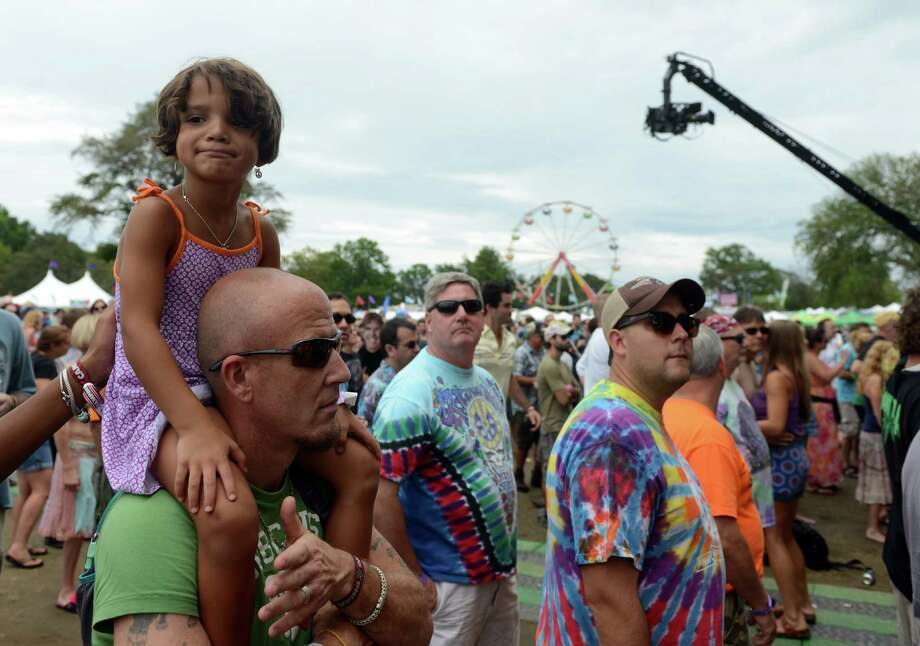 Day 2 of the 18th annual Gathering of the Vibes Musical Festival at Seaside Park in Bridgeport, Conn. Friday, July 26, 2013. Photo: Autumn Driscoll / Connecticut Post freelance