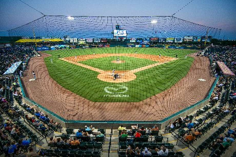 The Sugar Land Skeeters play  at Constellation Field  in Sugar Land.