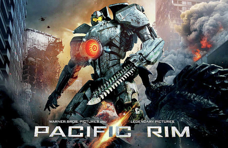 "The movie, ""Pacific Rim,"" is now playing in area theaters. Photo: Contributed Photo / Westport News contributed"