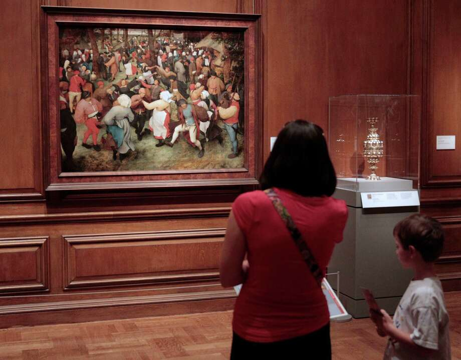 """Pieter Bruegel the Elder's """"The Wedding Dance"""" from the Detroit Institute of Arts could be among works to be auctioned by the city of Detroit. Photo: Jeff Kowalsky / © 2013 Bloomberg Finance LP"""