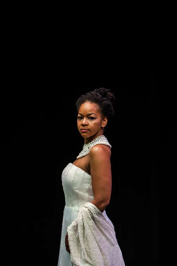 "Crystal Dickinson who will star as Cleopatra in Shakespeare's ""Antony and Cleopatra"" at the Wortham Theater on the campus of University of Houston July 20, 2013. (Michael Starghill, Jr.) Photo: Michael Starghill, Jr., Photographer / © 2013 Michael Starghill, Jr."