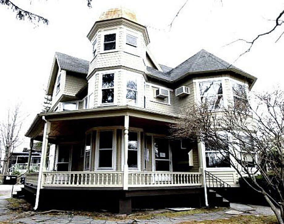 Plans to relocate the Gunn house on Church Lane, to make way for the Bedford Square development, are on hold for now as the Planning and Zoning Commission works its way through a busy agenda. Photo: File Photo / Westport News