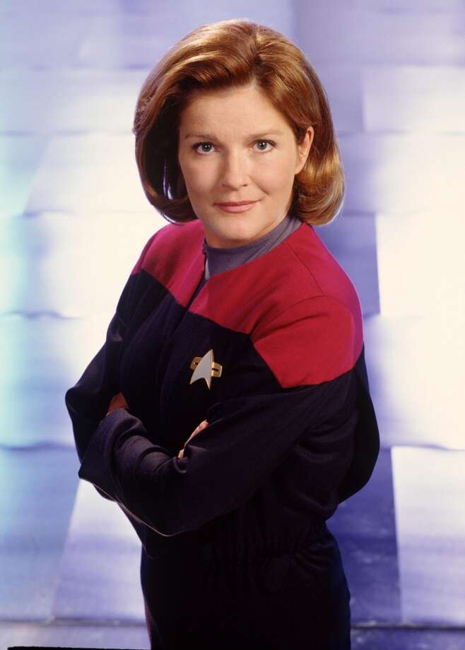 ... Captain Janeway from ''Star Trek: Voyager.'' Photo: Getty Images
