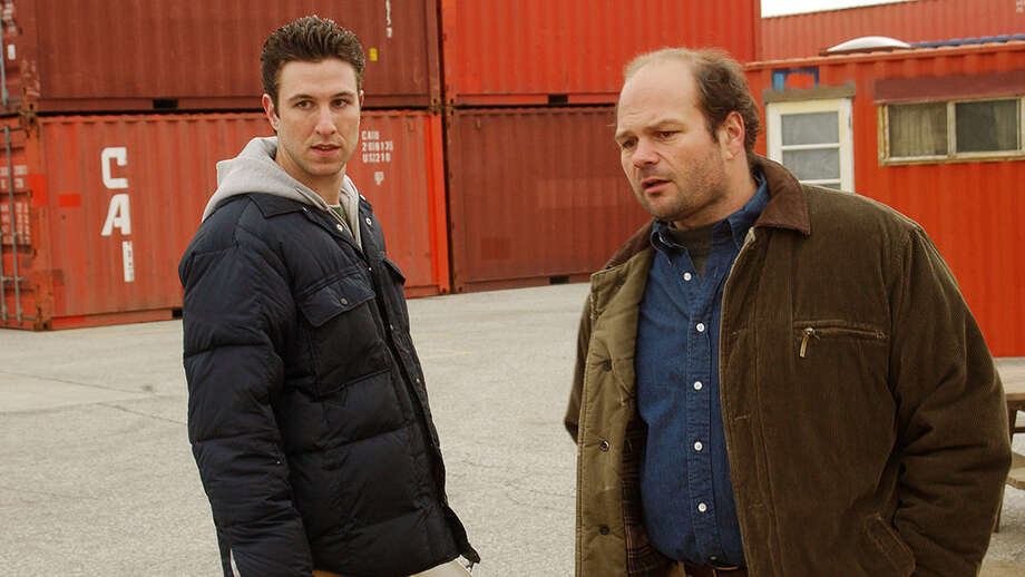 Here's Pablo Schreiber, left, when he played the equally unlikable Nicky in ''The Wire.'' He's pictured with actor Chris Bauer. Photo: HBO