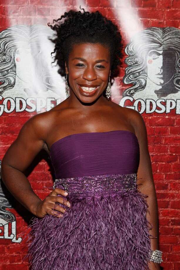 Uzo Aduba is probably best known as a singer and dancer from ''Godspell'' on Broadway. She's pictured in 2011. Photo: Cindy Ord, Getty Images