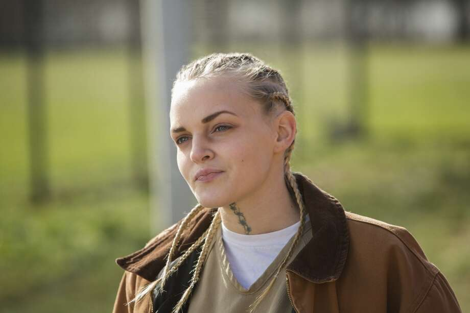 "Madeline Brewer is another young actress with a great face in ''""Orange.'' Photo: Patrick Harbron, Netflix"