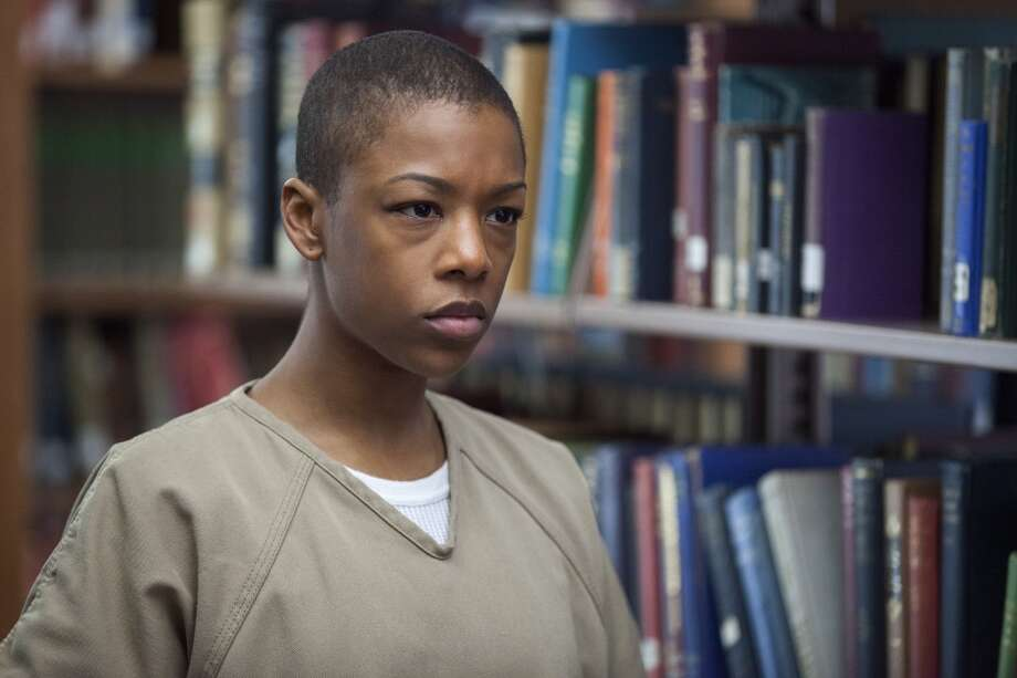 "Samira Wiley, in ''""Orange.'' Photo: Jessica Miglio, Netflix"