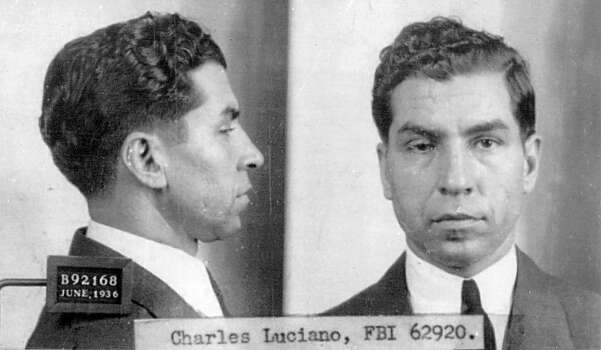 FBI photo of organized crime boss and ''La Cosa Nostra'' leader Charles ''Lucky'' Luciano. Photo: National Archives, Getty Images / Getty Images North America