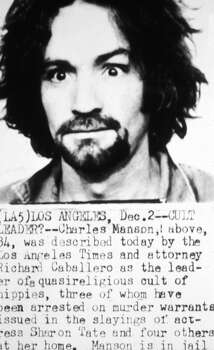 Police mug shot of American cult leader and murderer Charles Manson, 1969 Photo: Hulton Archive, Getty Images / Archive Photos