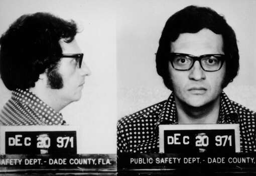 Mug shot of Larry King, who was arrested for grand larceny in 1971. Photo: Getty Images / Getty Images North America