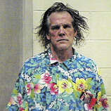 Actor Nick Nolte's arrest photograph taken by the California Highway Patrol after Nolte's arrest on suspicion of driving under the influence is shown on September 12, 2002 in Woodland Hills, California. Nolte was arrested September 11th after a California Highway Patrol officer saw his Mercedes-Benz driving erratically. The actor was cited and released on a misdemeanor charge of driving under the influence of alcohol or drugs.