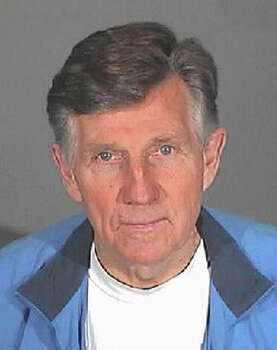 In this handout image provided by the Glendale City Jail, TV personality Gary Collins, 69, poses for his mug shot photo after he was checked into the Glendale City Jail January 14, 2008 in Glendale, California. According to the Sheriff's department, Collins will serve a four-day sentence for drunk driving after choosing to pay a daily fee to stay in the Glendale jail instead of the Los Angeles County Jail. Photo: Handout, Getty Images / 2008 Getty Images