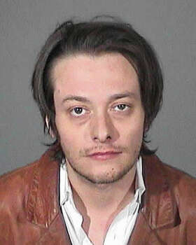 In this handout image provided by the Los Angeles County Sheriff's Office, actor Edward Furlong is seen in a police booking photo after his arrest for alleged domestic violence January 13, 2013 in Los Angeles, California. Photo: Handout, Getty Images / 2013 Los Angeles County Sheriff?s Office