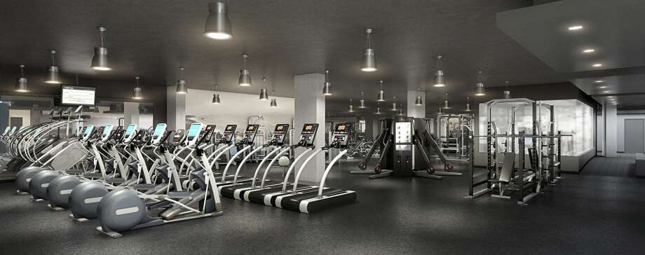 7,000 sq. ft. fitness center. Photo: 2013 DBOX